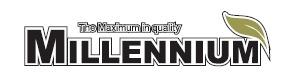 Логотип ламината Millennium