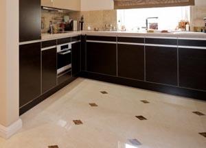 Линолеум для кухни под плитку