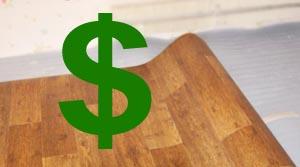 Стоимость укладки линолеума