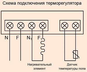 Как подключить терморегулятор к теплому полу