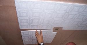 Укладка потолочной плитки своими руками