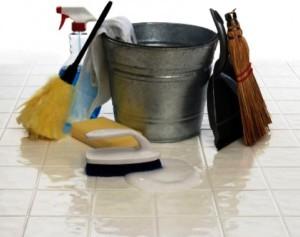 Как ухаживать и чем мыть плитку на полу?