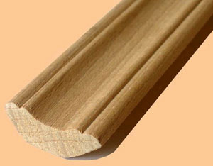 Плинтус деревянный для пола
