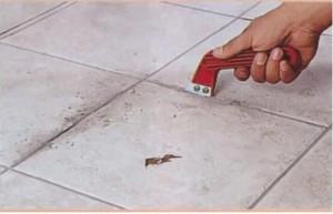 Ремонт кафельной плитки на полу