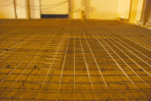 Армирование бетонного пола